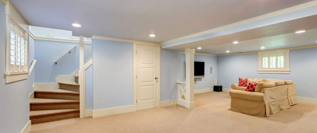 basement remodeling finishing