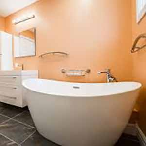 bathroom design free standing soaking tub