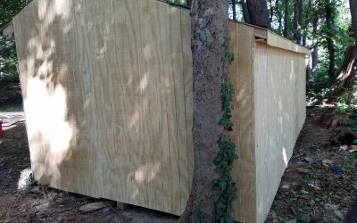 Shed Carpentry Repairs